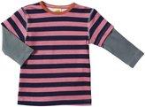 Kiwi Tee (Baby) - Pink/Midnight Stripe-18-24 Months