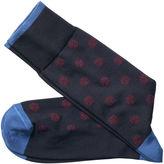Johnston & Murphy Snowflake Socks