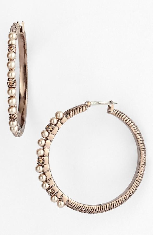 Givenchy Hoop Earrings