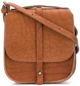 Humanoid flap shoulder bag
