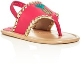 Jack Rogers Girls' Pineapple Slingback Sandals - Baby