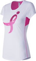 New Balance Women's Lace Up Graphic Accelerate Tee