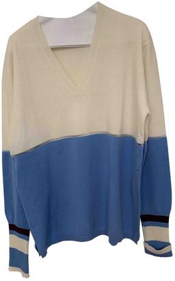 Fendi Blue Cashmere Knitwear