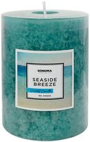 "SONOMA Goods for LifeTM 3"" x 4"" Seaside Breeze Pillar Candle"