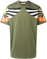 Givenchy Columbian-fit Optical Wing print t-shirt - men - Cotton - XS