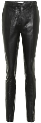 Victoria Victoria Beckham High-rise skinny leather pants