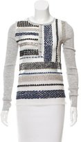 Prabal Gurung Embroidered Wool Top w/ Tags