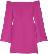 Tanya Taylor Jessica off-the-shoulder crepe mini dress