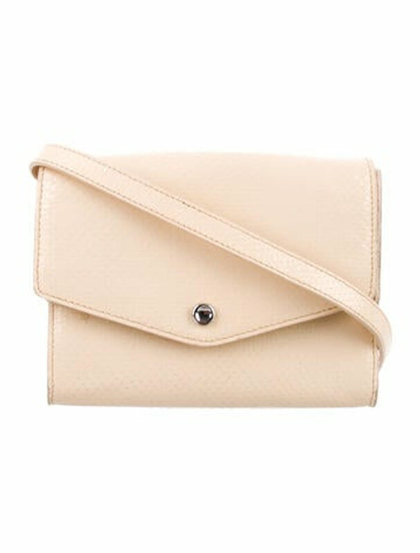 Thumbnail for your product : Elizabeth and James Leather Crossbody Bag Silver