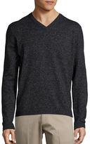 HUGO BOSS V-Neck Wool-Blend Sweater