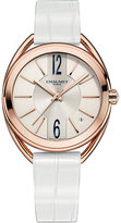 Chaumet W23870-02A Liens 18ct pink-gold and leather watch