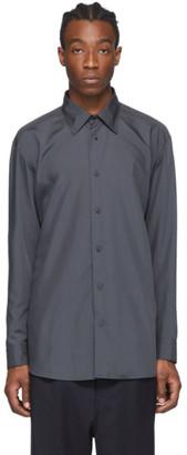 Issey Miyake Grey Pleated Shirt