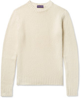 Ralph Lauren Purple Label Cashmere Sweater - Cream