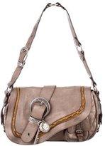 Christian Dior Metallic Gaucho Bag
