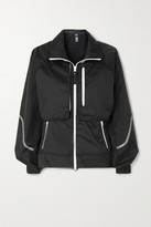 Thumbnail for your product : adidas by Stella McCartney Truepace Convertible Printed Recycled Ripstop Jacket - Black