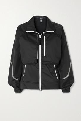 adidas by Stella McCartney Truepace Convertible Printed Recycled Ripstop Jacket - Black