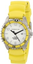 Momentum Women's 1M-DV07WY1Y M1 Stainless Steel Watch with Yellow Rubber Strap