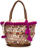 Figue medium 'Fiji Tuk Tuk' tote - women - Cotton/Leather - One Size