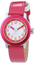 Esprit TP10761 Cherry Girl's Quartz Watch with White Dial Analogue Display and Red Imitation Leather Strap ES107614003