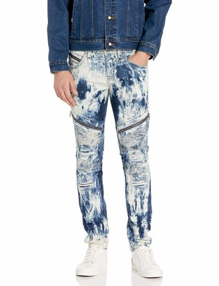 Rock Revival Men's Daviday S208 Skinny Leg Jean