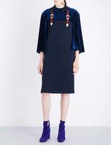 Toga Mirano wool-jersey dress