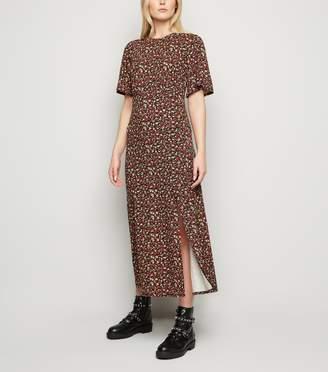 New Look Tall Floral Jersey Empire Midi Dress