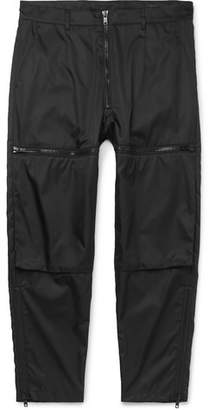 Prada Nylon-Gabardine Cargo Trousers