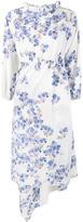 Vetements floral print asymmetric dress