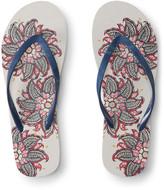 Floral Bandana Flip-Flop