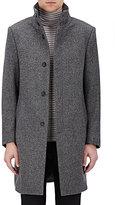 Barneys New York Men's Wool-Cashmere Topcoat-GREY