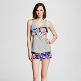 Nintendo Women's Splatoon Tank & Shorts Pajamas Set