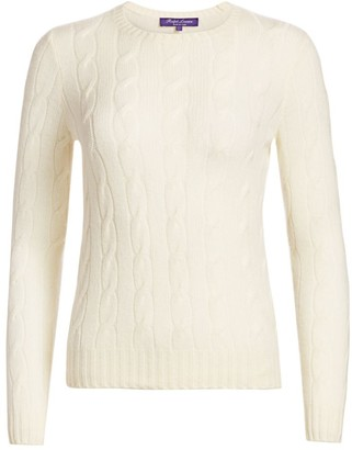 Ralph Lauren Iconic Style Cashmere Jersey Crewneck Sweater