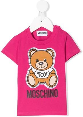 MOSCHINO BAMBINO teddybear print T-shirt