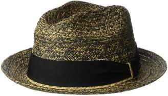 Bailey Of Hollywood Men's Romeo Braided Straw Fedora Trilby Hat