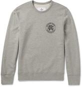 Reigning Champ - Printed Mélange Cotton-jersey Sweatshirt
