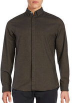 Selected Textured Cotton Sportshirt