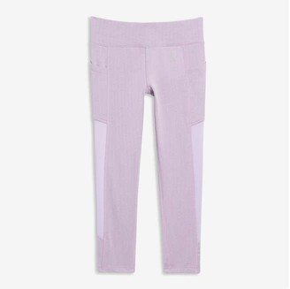 Joe Fresh Kid Girls' Fitted Active Legging, Lavender (Size S)