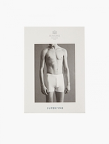 Sunspel Black Superfine Boxer Shorts