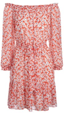 INC International Concepts Inc Floral-Print Fit & Flare Dress, Created for Macy's