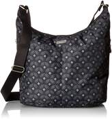 Baggallini Women's Hobo with Rfid Wristlet Cross Body Bag