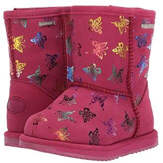 Emu Waterproof Flutter Brumby (Toddler/Little Kid/Big Kid) (Berry) Girls Shoes