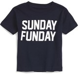 Kid Dangerous Infant Boy's 'Sunday Funday' Graphic T-Shirt