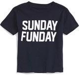 Kid Dangerous Infant 'Sunday Funday' Graphic T-Shirt