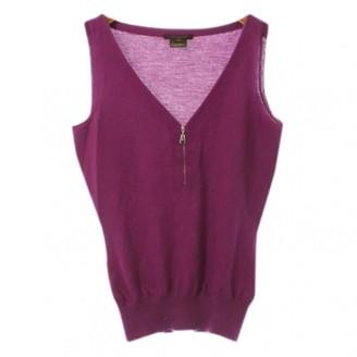 Louis Vuitton Purple Cashmere Top for Women