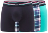 Jockey Big And Tall Pack Of Three Assorted Plain And Checked Print Trunks