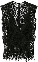 Jonathan Simkhai Bridge Peplum Lace Top