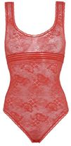 Stella McCartney stella lace red bodysuit
