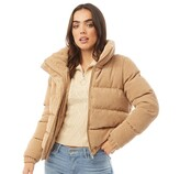 Thumbnail for your product : Brave Soul Womens Slay Cord Jacket Stone