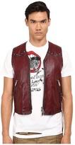DSQUARED2 Side Laces Leather Vest