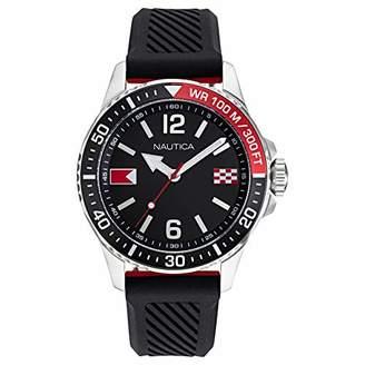 Nautica Men's NAPFRB926 Freeboard Silicone Strap Watch Box Set